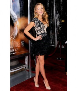 Blake Lively at NYC's Where the Wild Things Are Premier