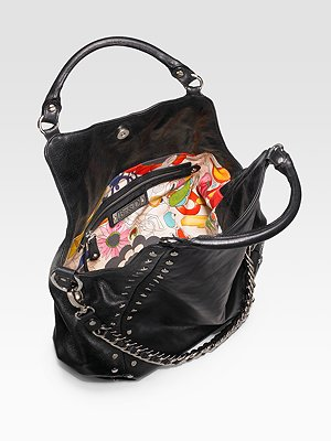 Be & D leather tote