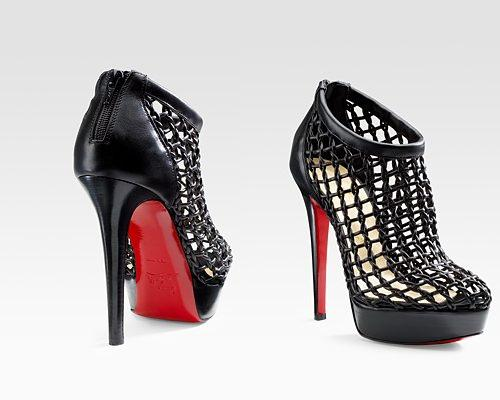 Cousin Caged Christian Louboutin Boot