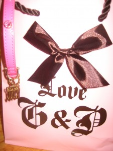 Juicy Couture boutique bag with matching Dog Collar
