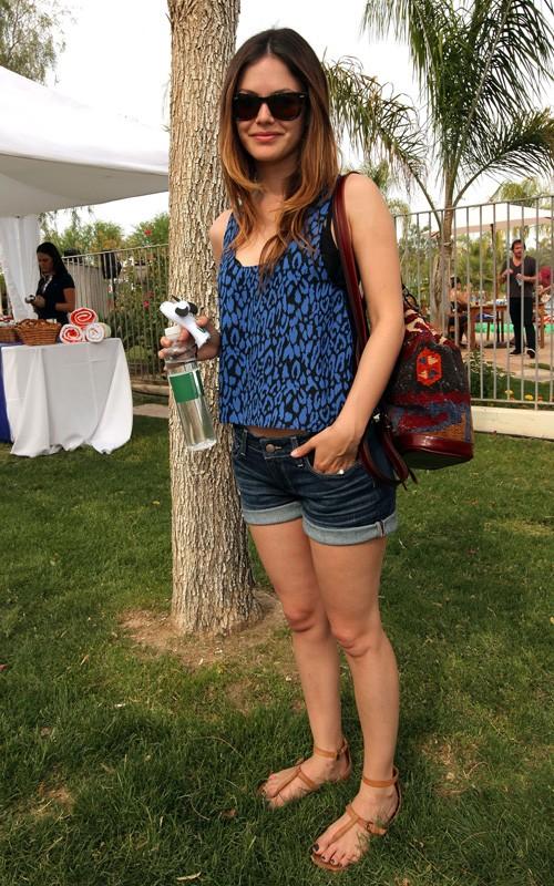Rachel Bilson at Coachella