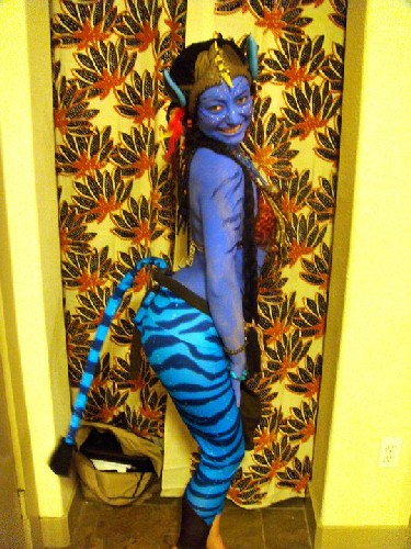 Avatar Beauty Costume Look at that Tail