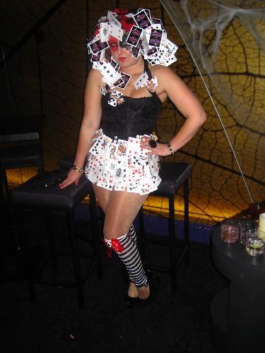 Looks Like an Alice In Wonderland Card Girl Halloween Costume