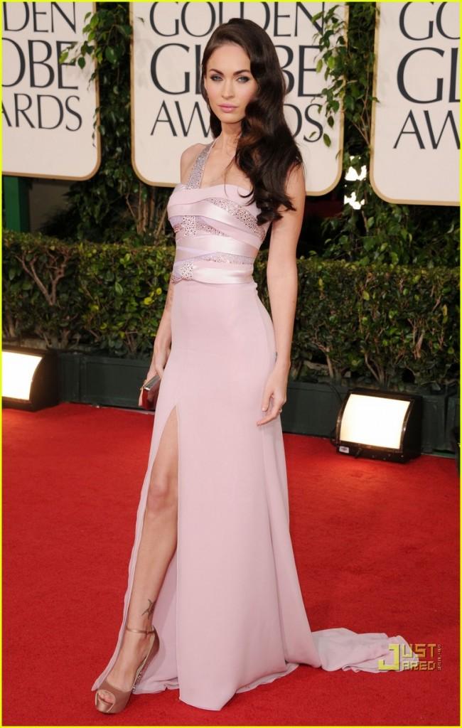 Megan Fox Swarovski Giorgio Armani Prive Gown | Fashion Trend Forward