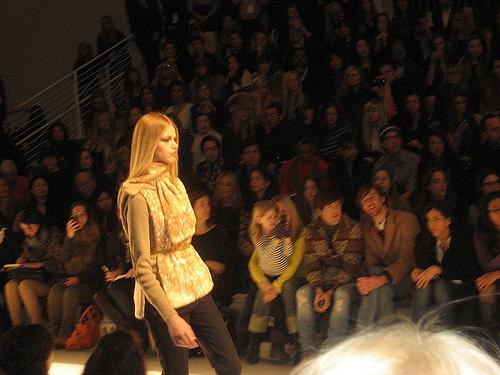 Gold Fashion Jill Stuart NYFW 2011