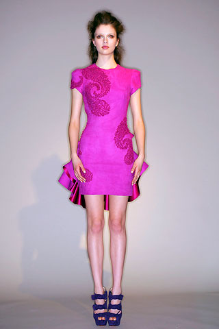 Gossip Girl Pink Marchesa Dress from spring 2010 Collection