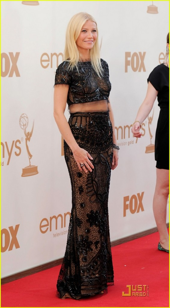 Gwyenth Paltrow Emmy 2011 Pucci Dress