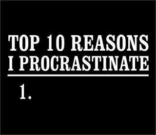 Fashion Never Procrastinates
