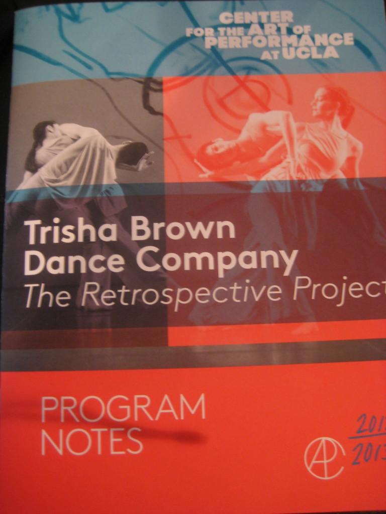 Dance Review Trisha Brown Postmodern dance Los Angeles UCLA Performance