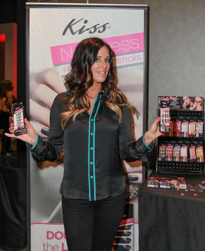 Patti Stanger of the Millionaire Matchmake with Impress by Broadway Nails