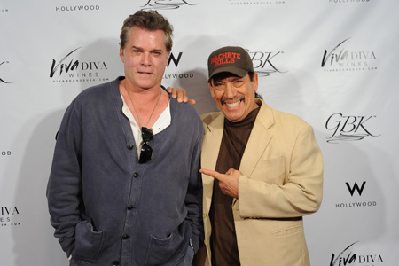 Ray Liotta, Danny Trejo at The GBK MTV Movie Awards Gift Lounge in Hollywood W Hotel