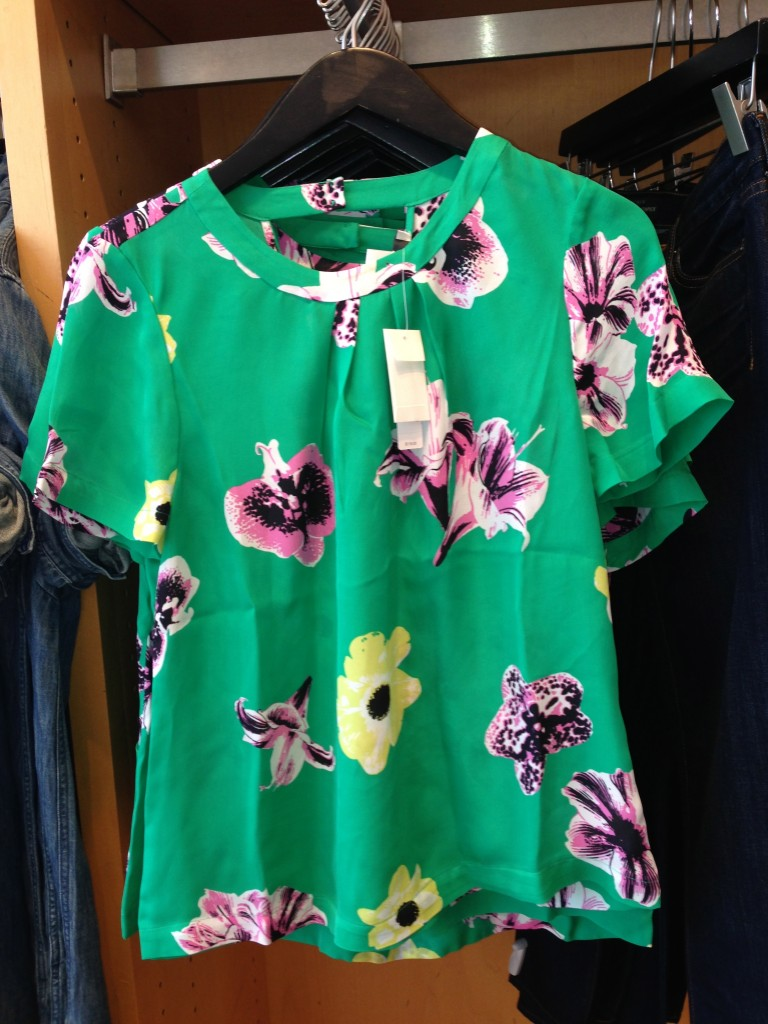 Green Floral collection JCrew
