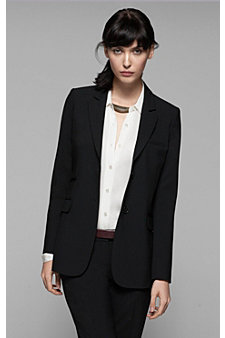 Dressing For the Office with the Katharine Theory Blazer by Theory