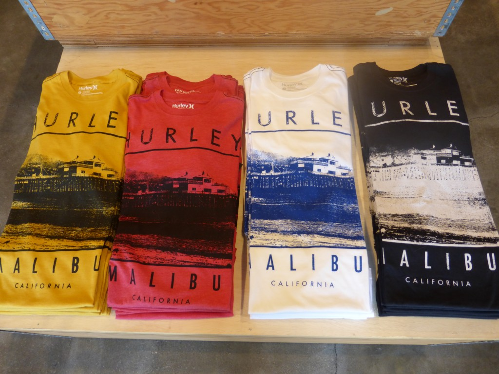 Hurley does Malibu in many colors