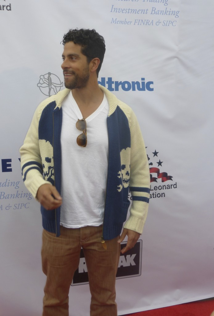 Magic Mike actor Adam Rodriguez at the big fighters big cause charity fight night