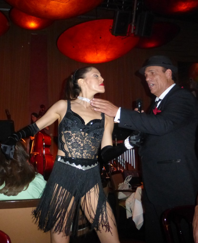 Robert Davi Sings Sinatra Songs May 29, 2013 Dancer Performance at Vibrato Jazz Club