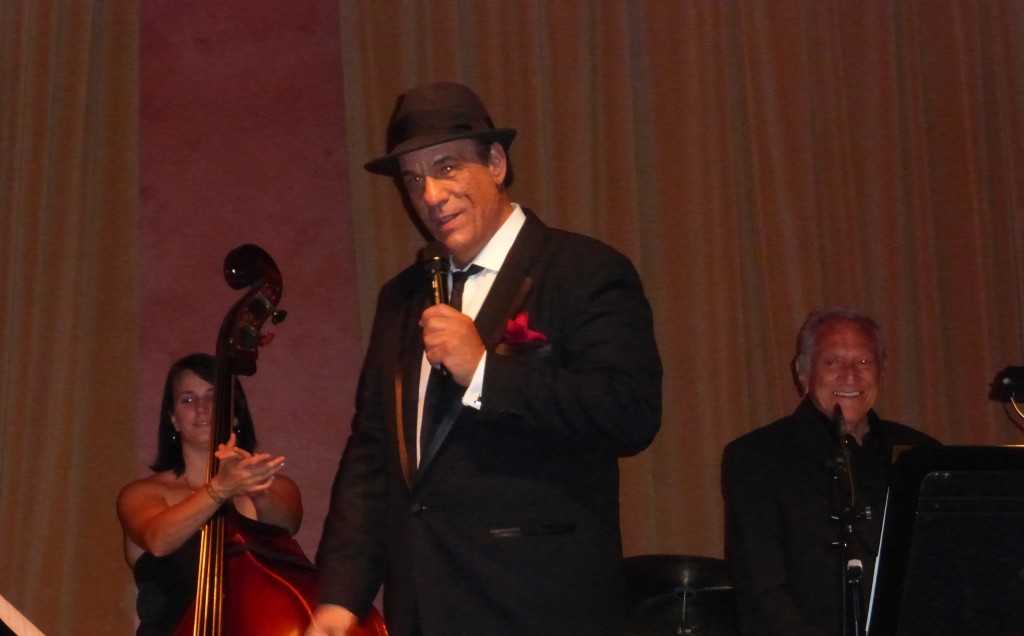Robert Davi Sings Sinatra at the Vibrato Grill Jazz Club Los Angeles