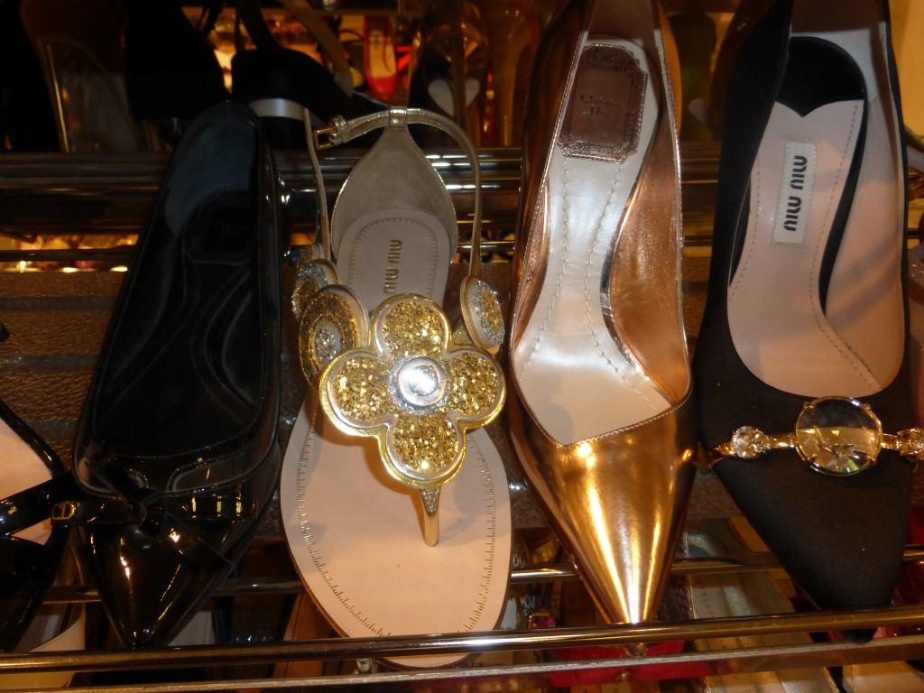 Miu Miu and Christian Dior Designer shoes on summer sale