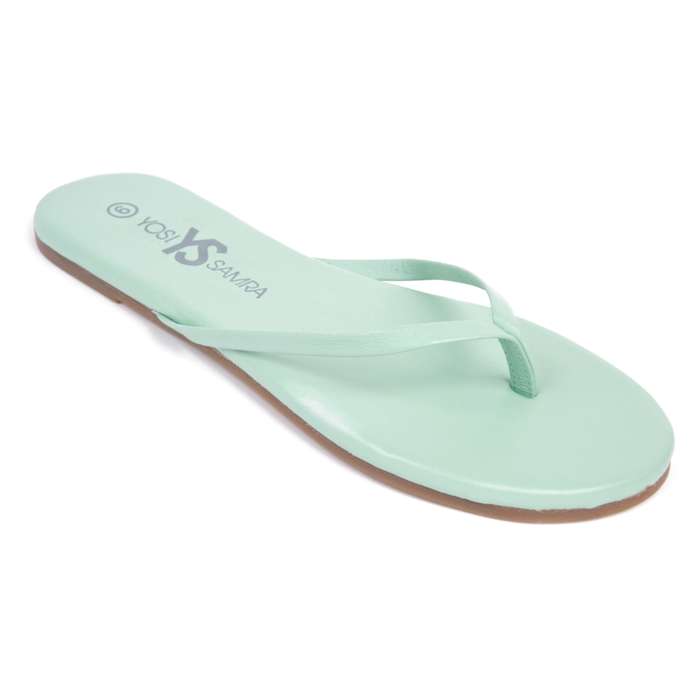 Yosi Samra Mint Flip Flop the hot 2013 color trend